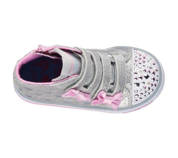 f03c1c7943b98 Shop Skechers Infant Girls Twinkle Toes Shuffles - Doddle Days Pink ...