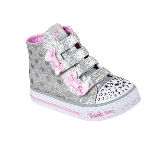 bdeb3ce84b0cd Shop Skechers Infant Girls Twinkle Toes Shuffles - Doddle Days Pink Online  | Skechers® Australia