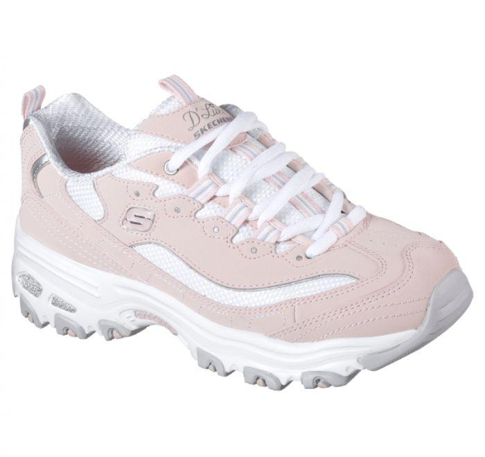 2d80dc749adb Shop Skechers Women's D'Lites - Biggest Fan Pink Online | Skechers®  Australia