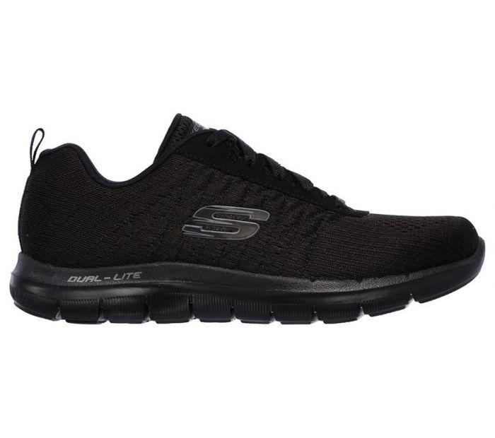 Skechers Womens Flex Appeal 2.0 Break Free Charcoal UK 5 EUR 38 (12757)