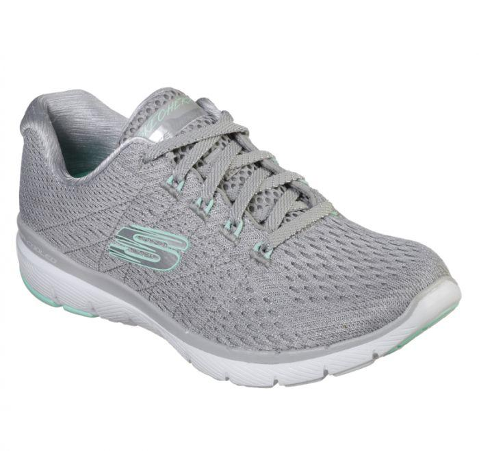 c5c07b39a4c Shop Skechers Women's Flex Appeal 3.0 - Satellites Grey Online | Skechers®  Australia