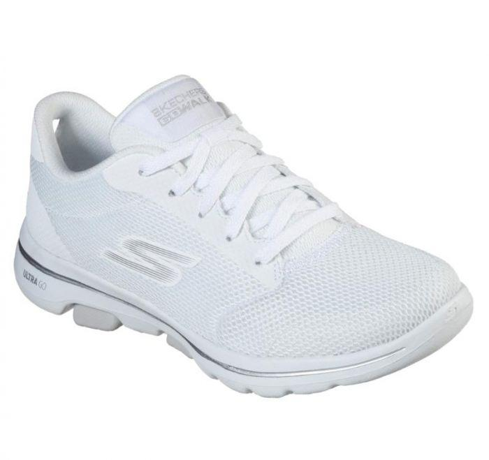 skechers white