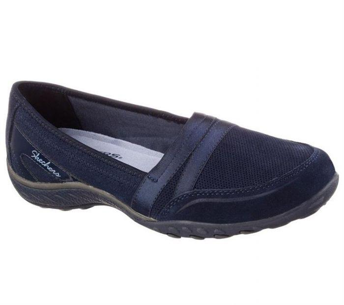 2d2a1499428a4 Shop Skechers Women's Relaxed Fit: Breathe Easy - Leisurely Navy ...