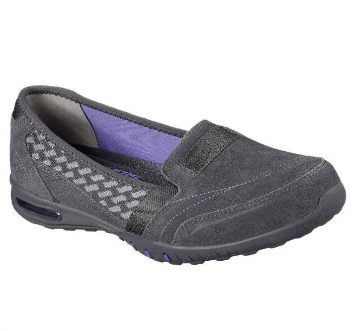 0ad3ba69edd25 Shop Skechers Women's Relaxed Fit: Easy Air - Ember Grey Online ...