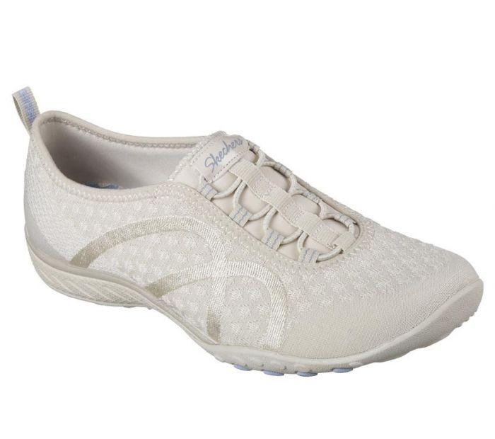 skechers relaxed fit breathe easy fortune-knit women's slip-on shoes