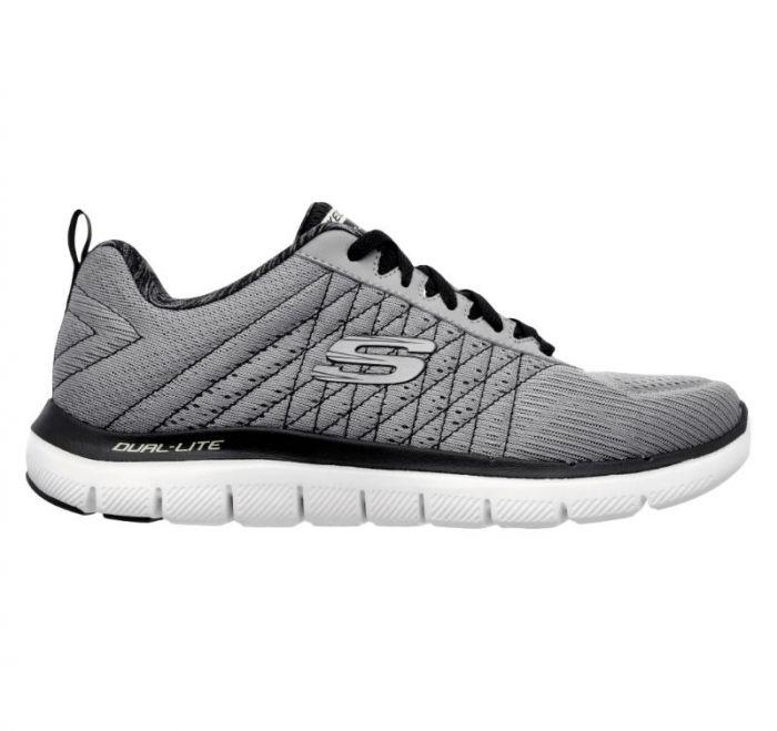 159a9a82 Shop Skechers Men's Flex Advantage 2.0 - The Happs Grey Online | Skechers®  Australia