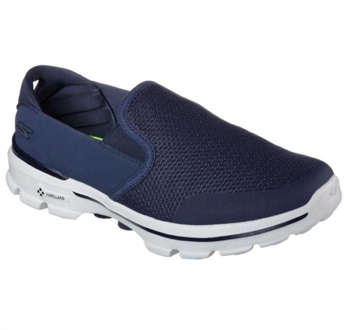 fc7589893372d Shop Skechers Men's Skechers GOwalk 3 - Charge Black Online | Skechers®  Australia