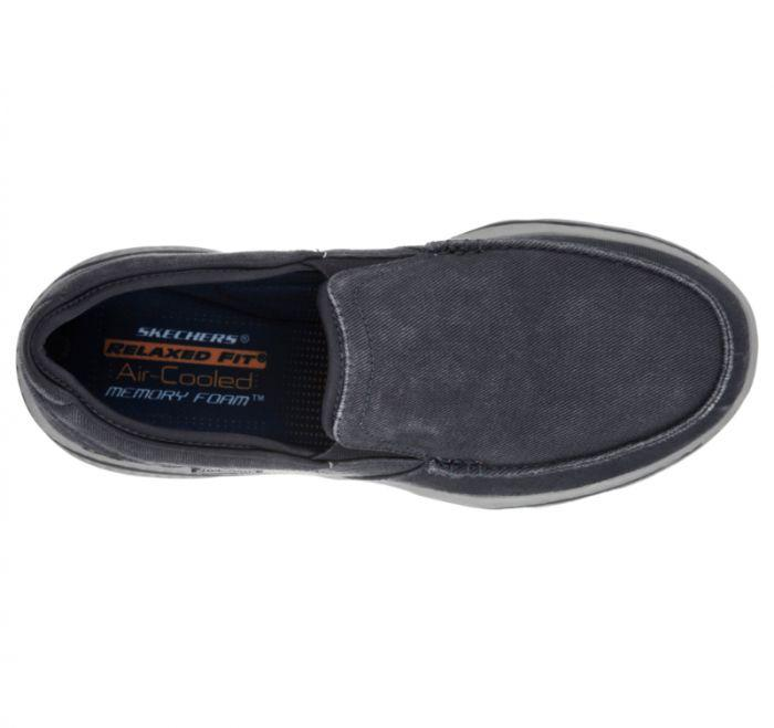 Skechers Mens Relaxed Fit Air Cooled Memory Foam Slip On
