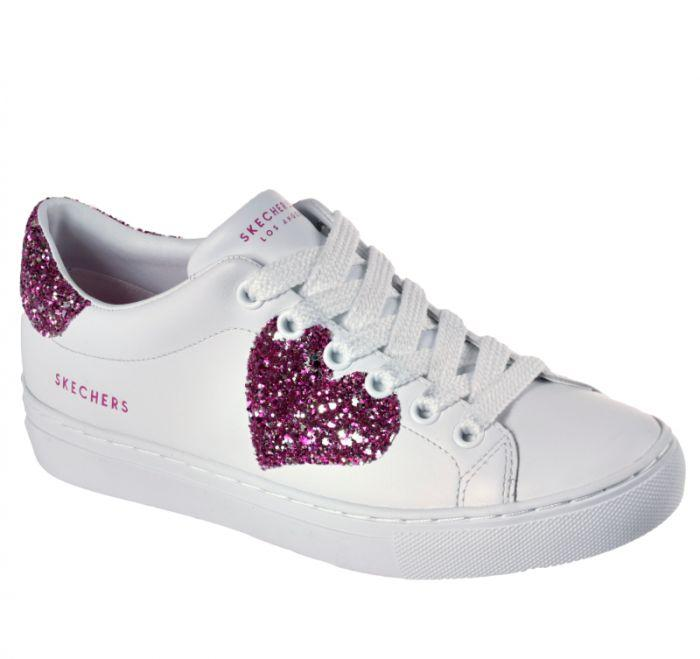 62b7634be025 Shop Skechers Women's Side Street - Love Always White Online | Skechers®  Australia