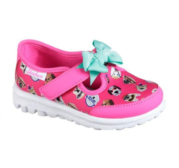 f80f2e59598 Shop Infant Girls' Skechers GOwalk - Bow Wow Online | Skechers® Australia