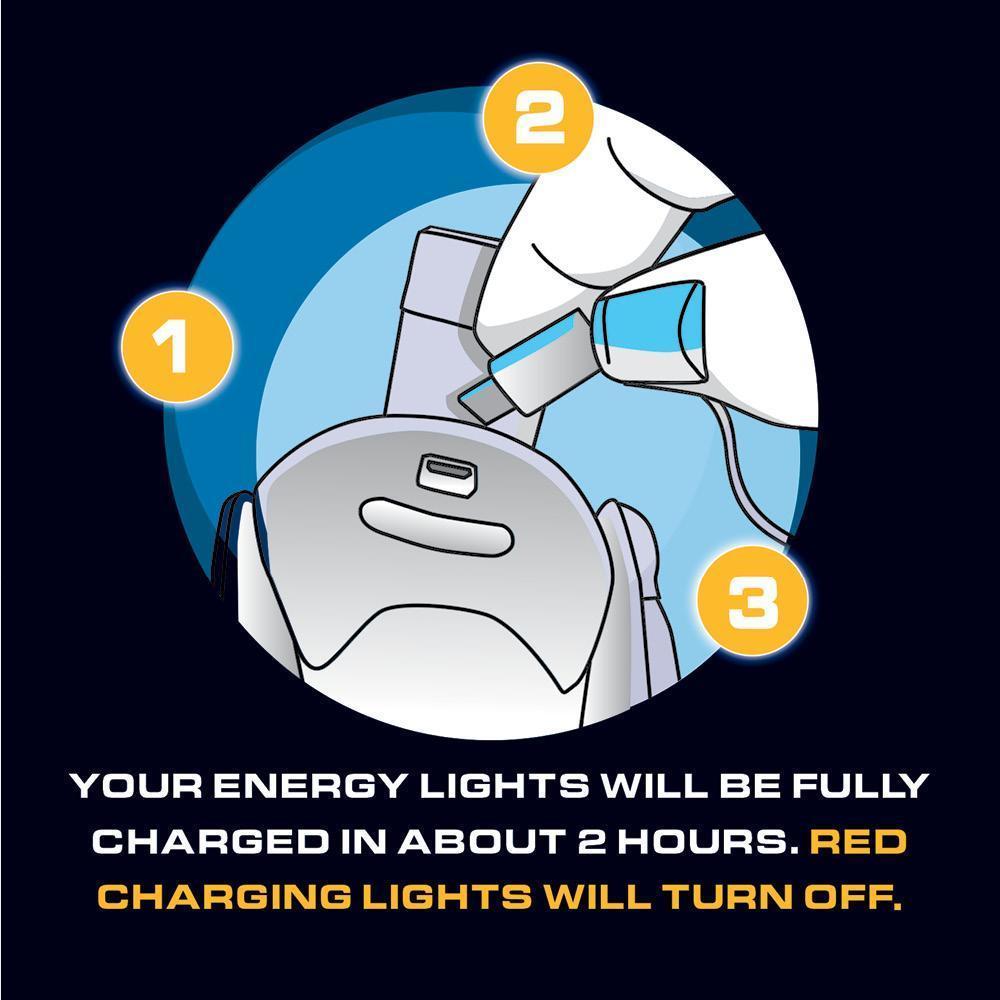 skechers luminators charging