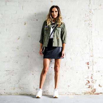 Get the look with the latest Skechers as worn by Renee